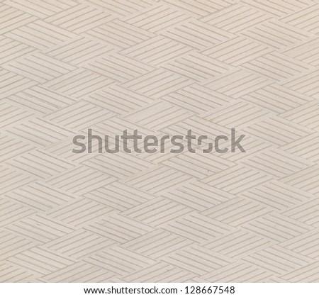 wood pattern Rhomboid shape