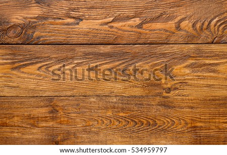 Wood plank brown texture background. Natural wooden timber, table surface. Light brown painted hardwood boarded wall