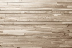 Wood plank brown texture background. wooden wall all antique cracking furniture painted weathered white vintage peeling wallpaper.
