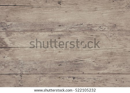 Wood plank fence close up. Detailed background photo texture. Natural wooden building structure background. #522105232