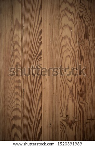 Wood plank with textures and streaks, slats table