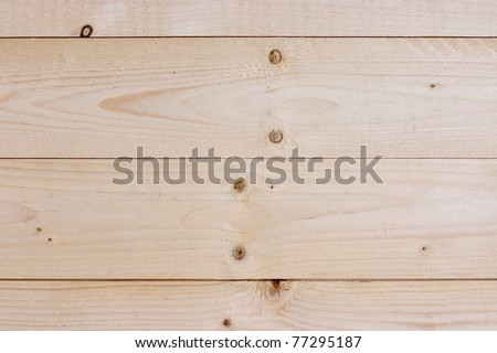 Wood planks for a wall