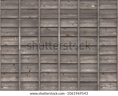 wood planks overlapping tiled #1061969543
