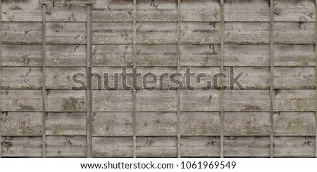 wood planks overlapping tiled #1061969549