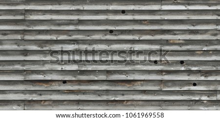 wood planks overlapping tiled #1061969558