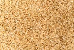Wood sawdust texture background, background pattern