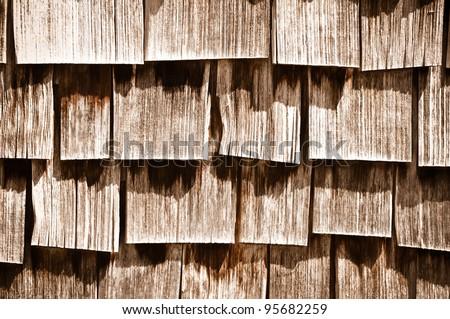 Wood Shingle Background