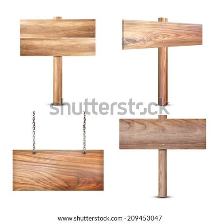 wood signe