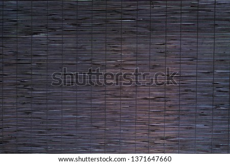 Wood slats, battens wall pattern surface texture.  of interior material for design background