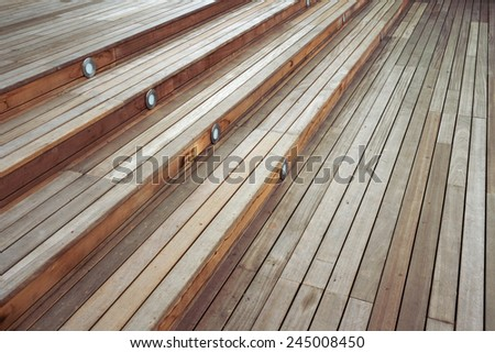wood stair case background
