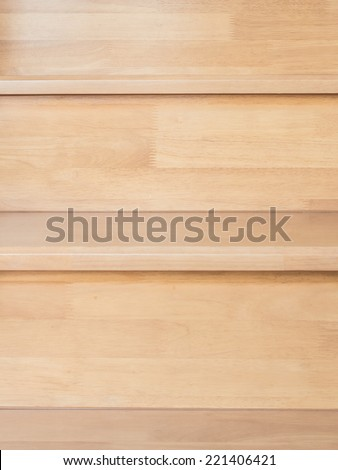 wood stair in the house