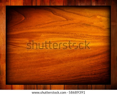 wood template background - stock photo