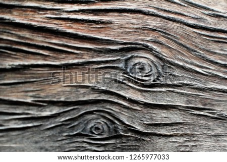 Wood texture background.And old wall. #1265977033