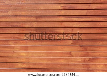 Wood Texture Background in Horizontal Pattern, Natural Color.