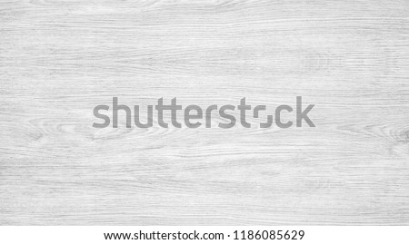 Wood texture background, light gray wooden table with crack and woodgrain. Surface of wood with nature color and pattern. Top view of plywood panel for backdrop or abstract wallpaper. Foto stock ©