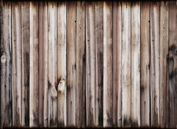 Wood texture background. Natural old wooden planks.
