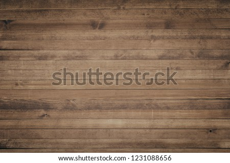 Wood texture background surface with old natural pattern. Grunge surface rustic wooden table top view #1231088656