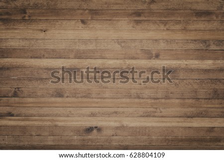 Wood texture background surface with old natural pattern. Grunge surface rustic wooden table top view #628804109