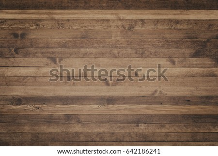 Wood texture background surface with old natural pattern. Grunge surface rustic wooden table top view #642186241