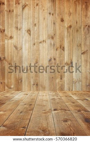 Wood texture background with vintage toned style #570366820
