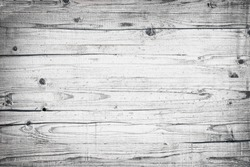 Wood texture background. Wood planks. Texture of bark wood. Copy space. Vintage antique grey boards.