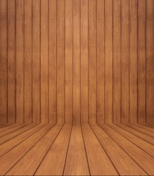 Wood texture background. wood wall and floor