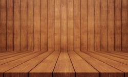 Wood texture background.wood wall and floor