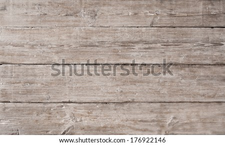 Wood Texture Background, Wooden Board Grains, Old Floor Striped Planks, Vintage White Timber or Grunge Table