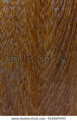 wood texture - brown blank plank surface shiny wooden wall floor frame exterior panel timber material background closeup #426864445