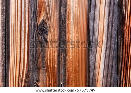 Wood Texture of Aged Fence Grunge Background