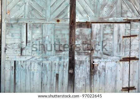 wood texture, old structure, door construction
