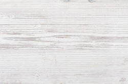 Wood Texture, White Wooden Background, Grey Plank Striped Timber Desk Close Up