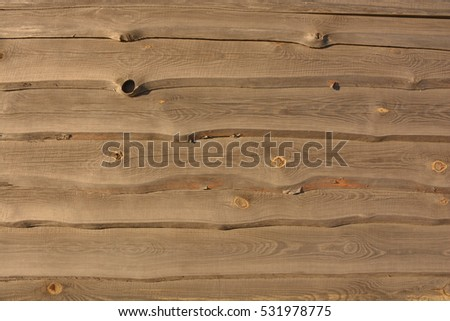 wood texture with knots - Shutterstock ID 531978775