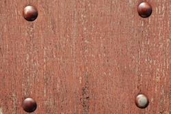 Wood texture with metal screws