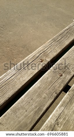 Wood texture with rivets #696605881