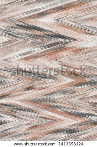 wood texture zigzag chevron zig zag background. waves stripes pattern. Colorful tribal geometric ethnic texture print for carpet, rug, scarf, shawl, scarf, blanket, clothing, book cover,  pillow,