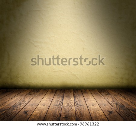 wood textured backgrounds in a room interior - stock photo