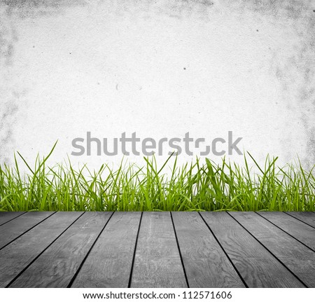 wood textured backgrounds in a room interior on the grass backgrounds