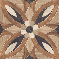 Wood Textured Geometric Tiles Design for Parking and Floor Tile