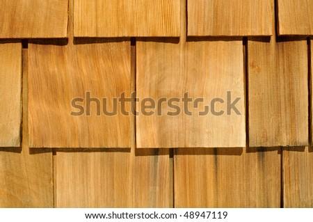Wood Textured Shingle Background