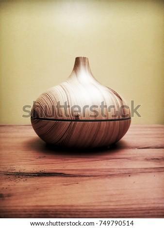 Wood Vase #749790514