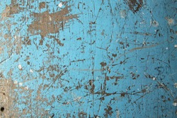 wood wall paint blue color