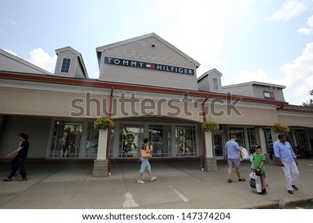 clothing outlet store in Woodbury Common, New York, on Tuesday, July 9