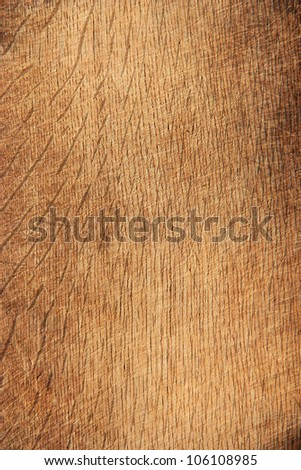 wooden background, used as chopping board