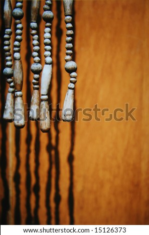 WOODEN BEADED DOOR CURTAIN – DOORS