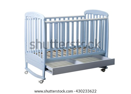 wooden bed for children #430233622