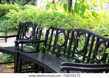 wooden benches at park  no...