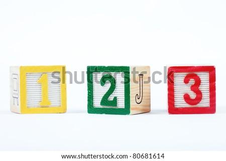 wooden blocks stacked vertically