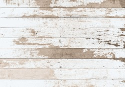 wooden board white old style abstract background objects for furniture.wooden panels is then used.horizontal