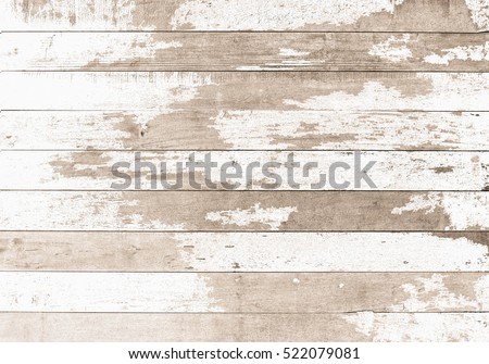 wooden board white old style abstract background objects for furniture.wooden panels is then used.horizontal #522079081